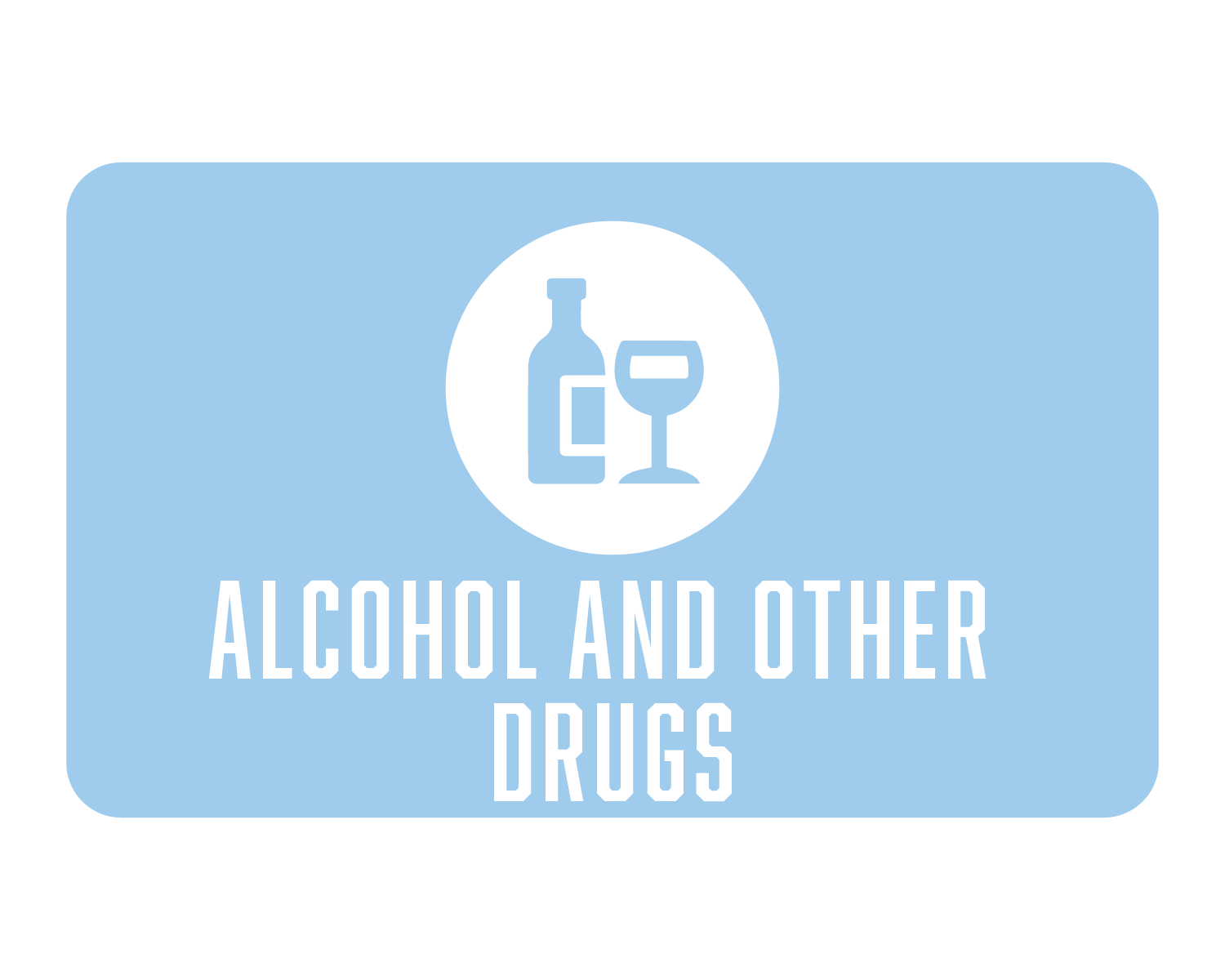 Alcohol and Other Drugs Icon