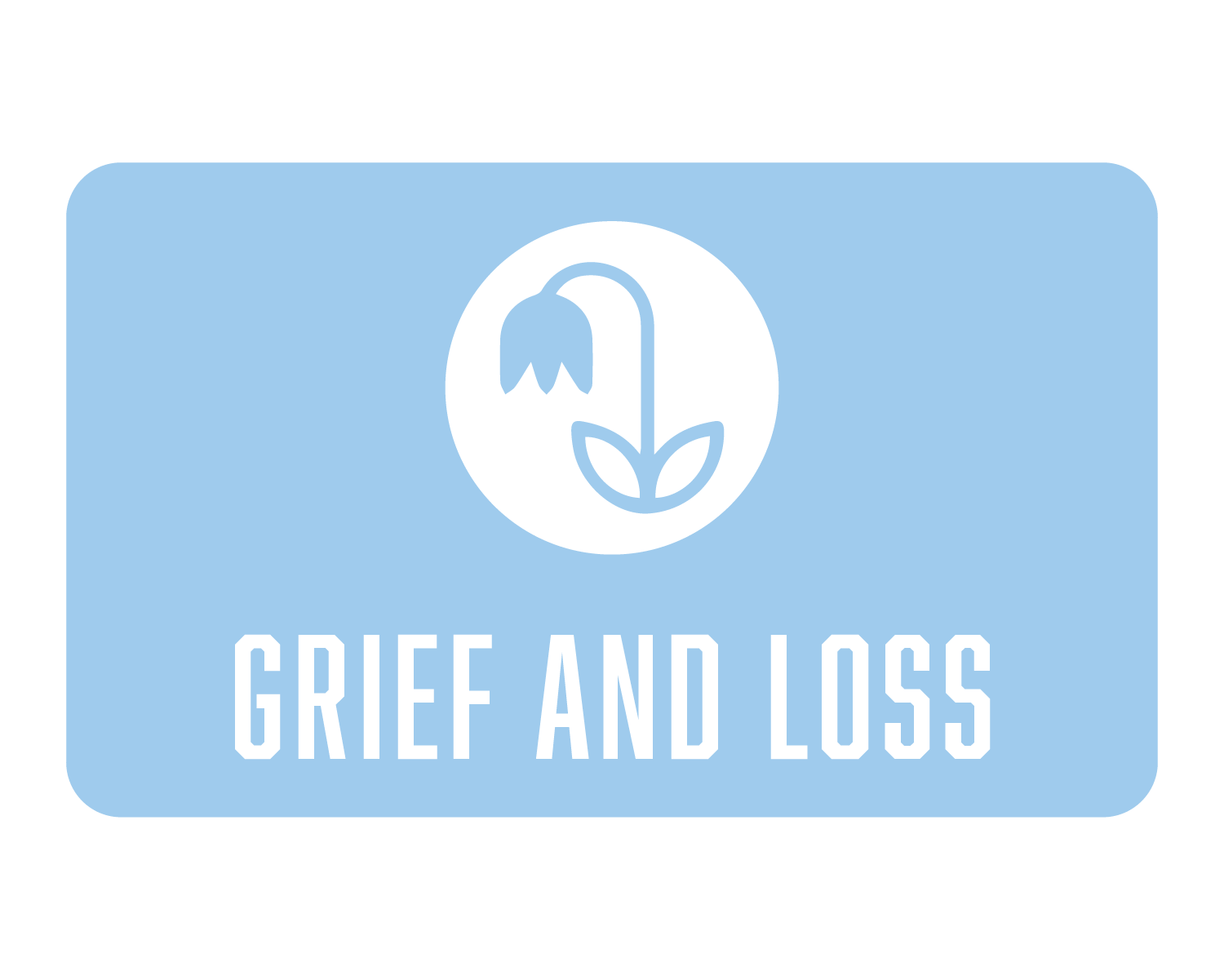 Grief and loss icon