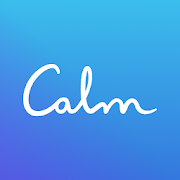 Calm for meditation and relaxation phone app icon