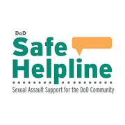 DoD Safe Helpline for sexual assault recovery phone app icon