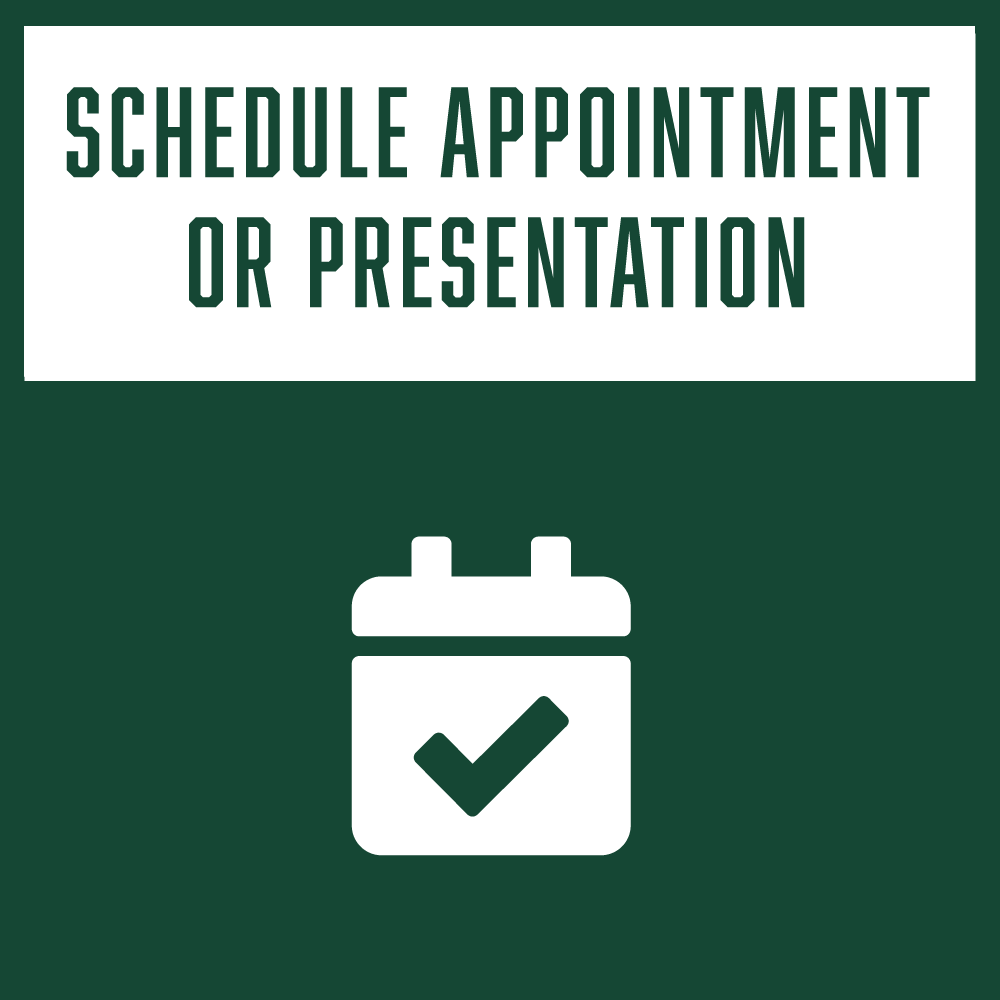 Schedule Appointment or Presentation square icon