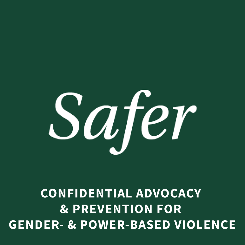 Safer Confidential Advocacy and Prevention for Gender- & Power-based Violence square icon