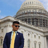 Cal Poly English Major Takes Part in Prestigious Internship in the U.S. Congress