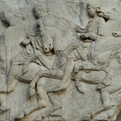 Thumnail Western Intellectual Tradition Minor - Parthenon Frieze detail