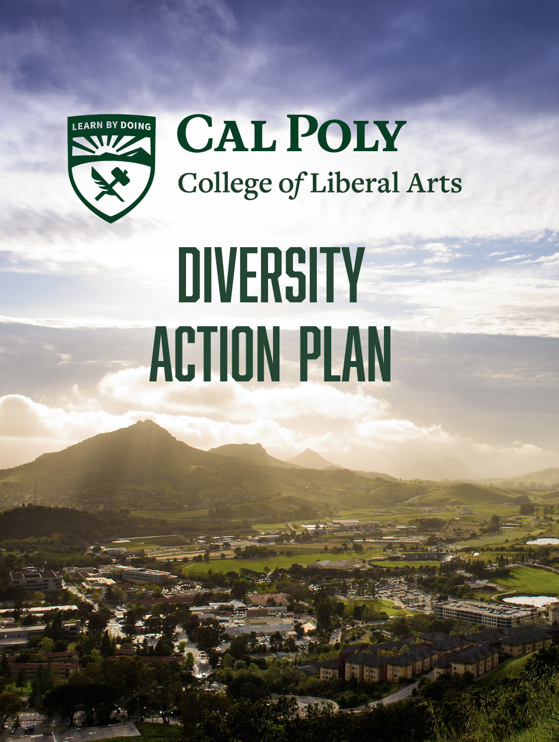 CLA Diversity Action Plan cover page