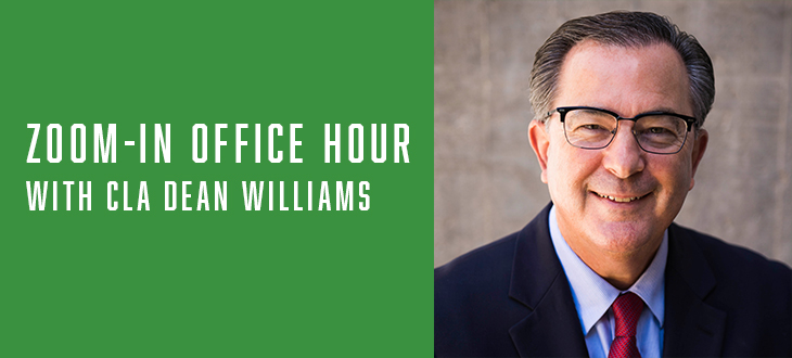 Zoom-in Office Hour with Dean Williams