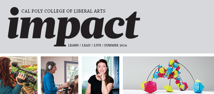 IMPACT - The College of Liberal Arts Magazine Header