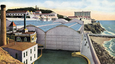 Old Postcard of Sutro Baths