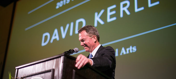 David Kerley 2015 Honored Alumnus
