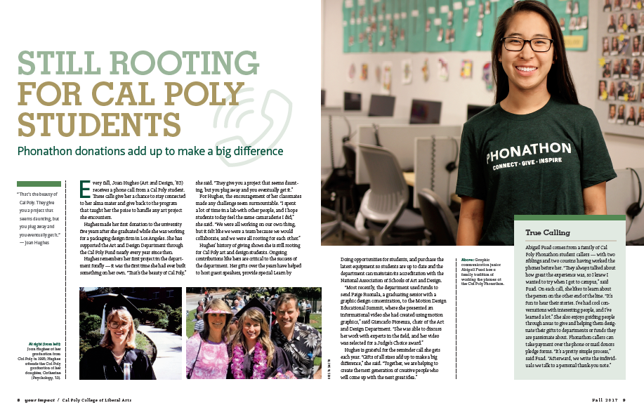 Download a pdf of Still Rooting for Cal Poly Students