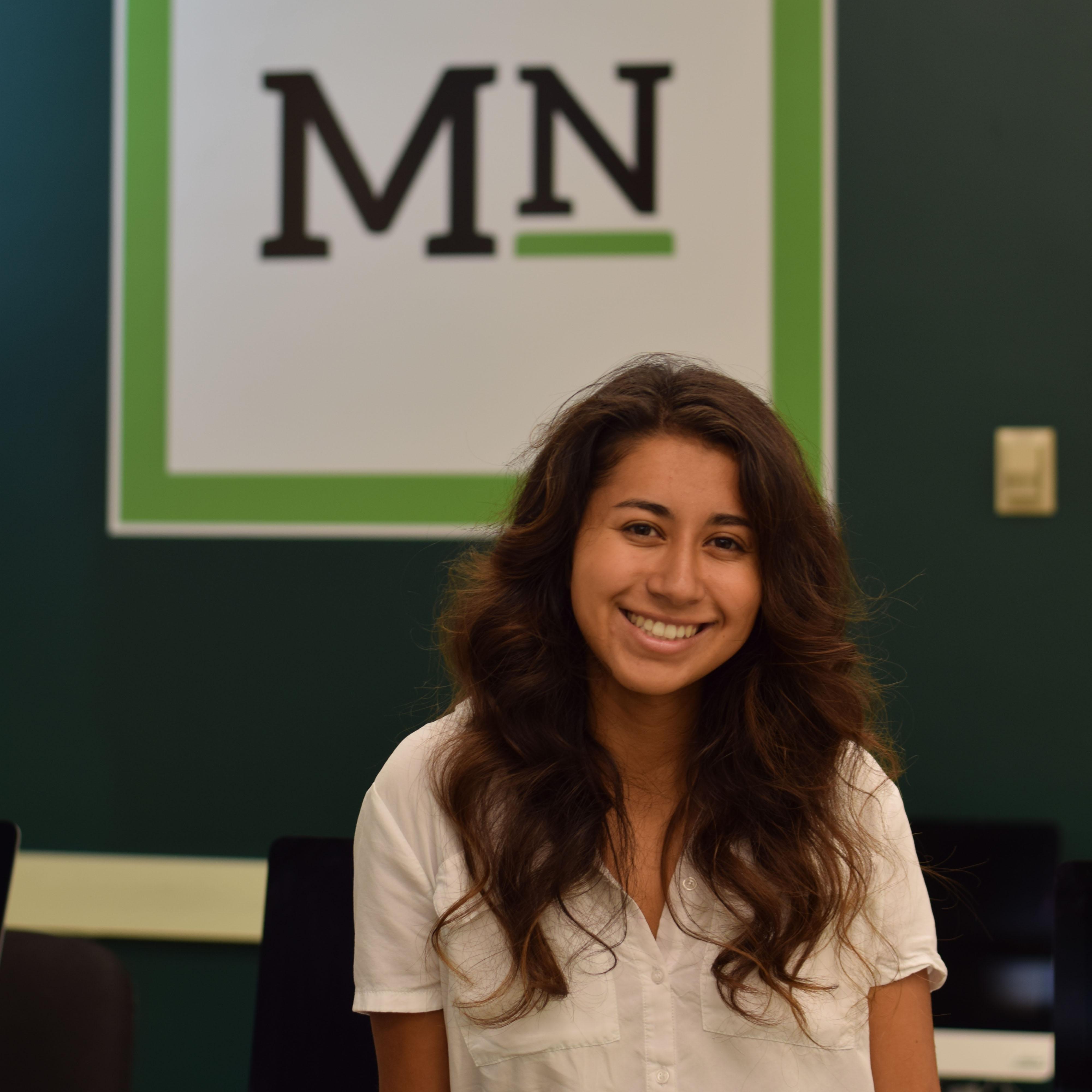 Journalism student Cassandra Garibay