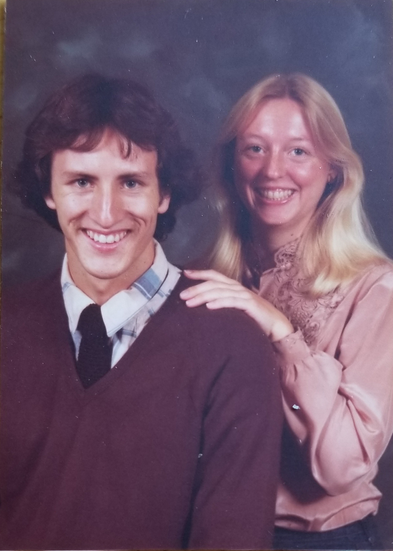 Nancy South (Speech Communication, '81) met her future husband, Matthew (Aerospace Engineering, '83), at Cal Poly in 1979