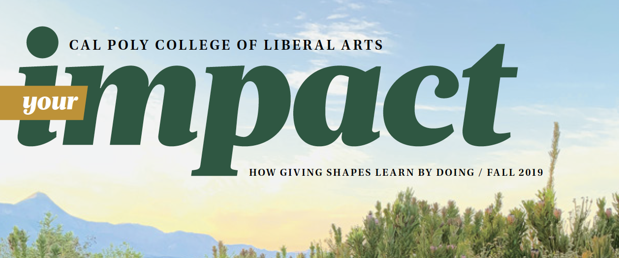 Your IMPACT - The College of Liberal Arts Magazine