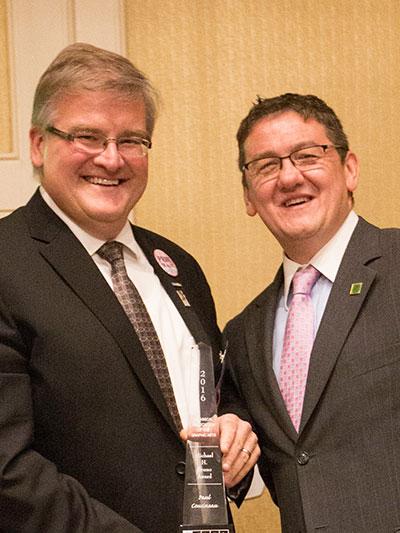 Cal Poly Alumnus, Cousineau, Received Prestigious TAGA Michael H. Bruno Award