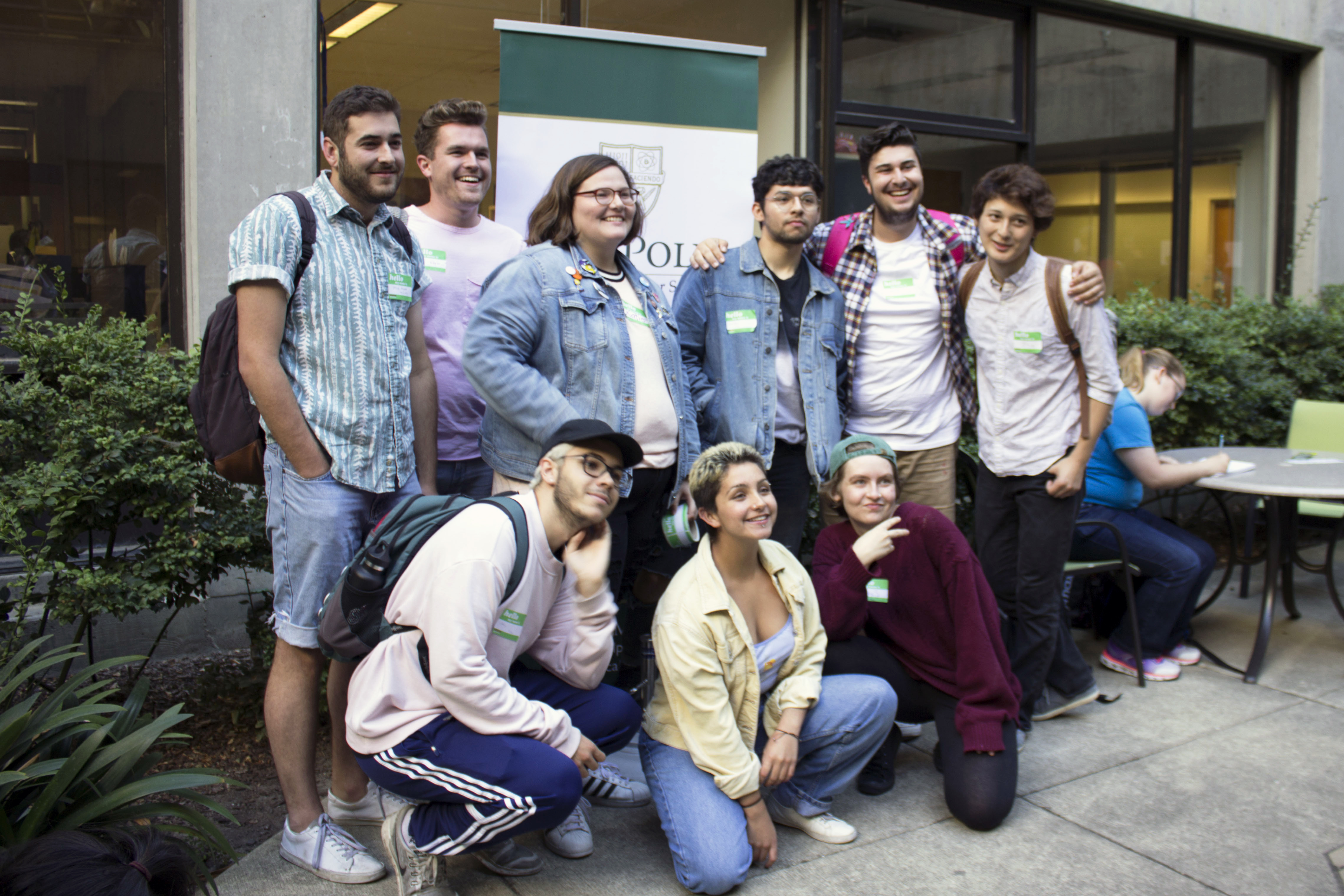Students at the Queer Studies Minor Launch Party