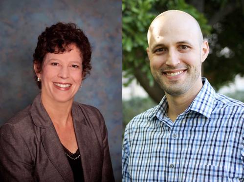 Professors Lynn Metcalf and David Askay
