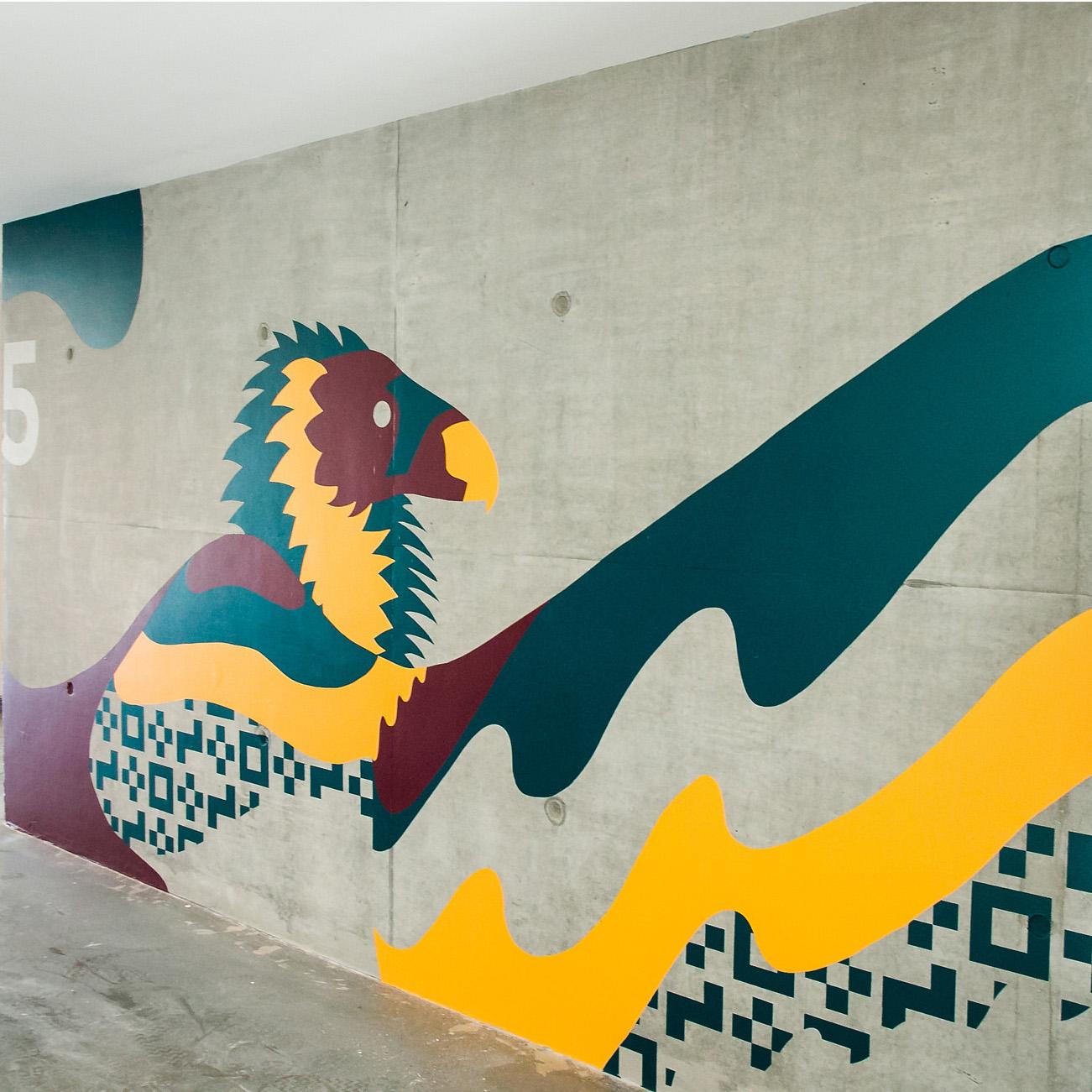yakʔitʸutʸu mural