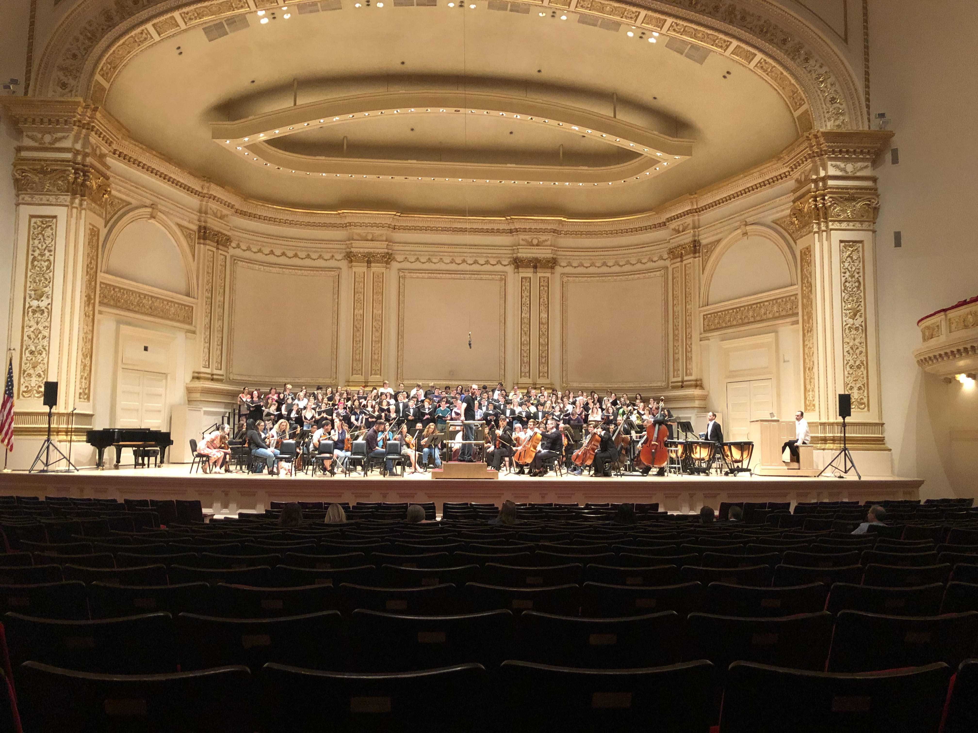 Cal Poly Choirs perform in Carnegie Hall