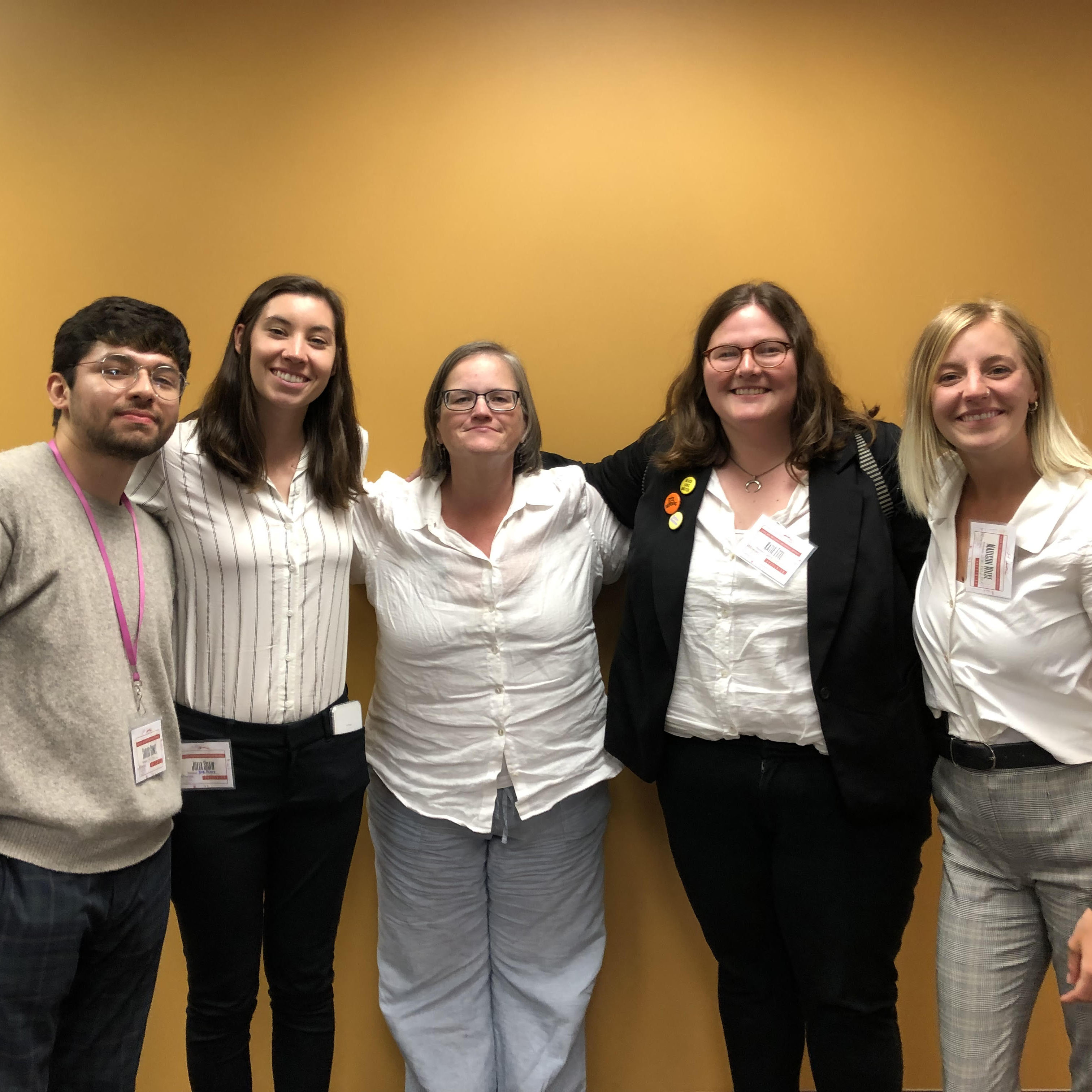 WGS students that presented at CSU Gender, Race and Sexuality Conference
