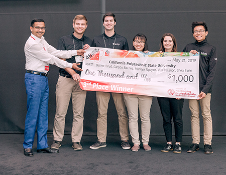 CLA and Industrial technology students win third at Coca-Cola and Mondelez's 48-Hour Repack Competition