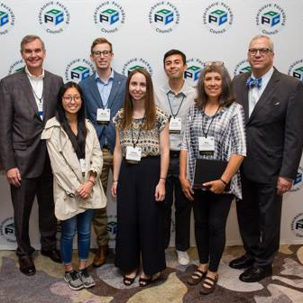 Graphic design students placed second in the national packaging competition