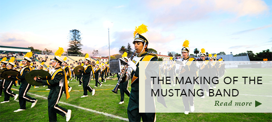 Mustang Marching Band