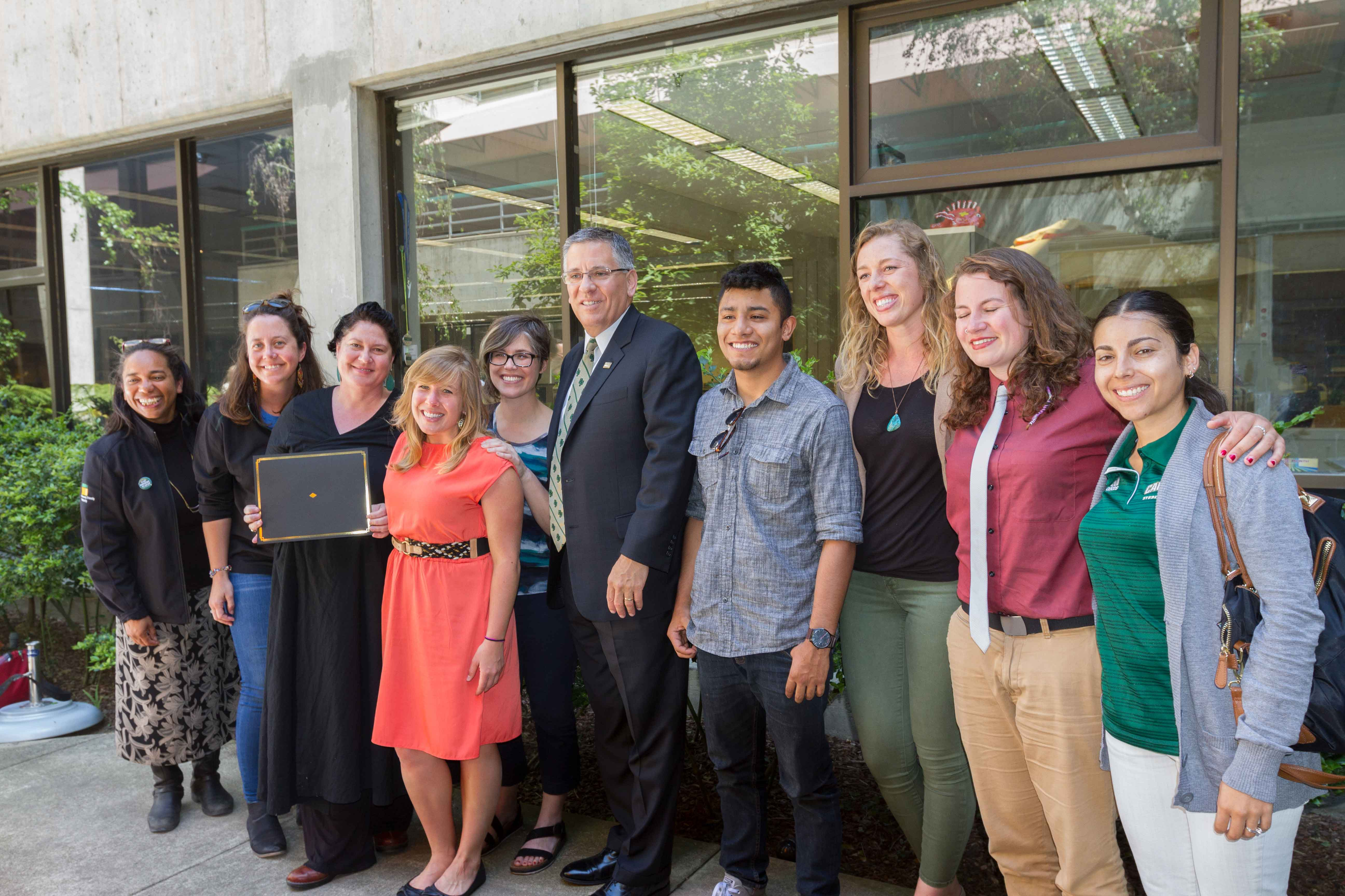 Cal Poly President's Diversity Awards 2017