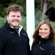 CLA grads and iCracked employees Cody Ward and Leslee Lambert