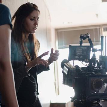 Director and producer Erika Cohn
