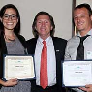 Students take top honors at research competition