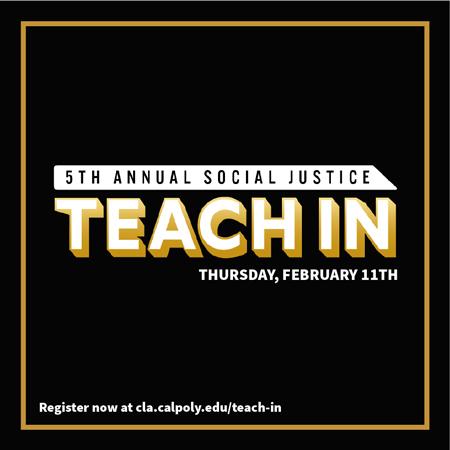 CLA 5th Annual Teach In