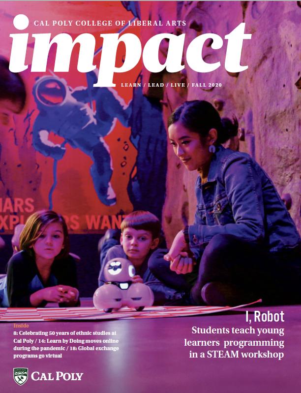 Impact Magazine 2020 cover
