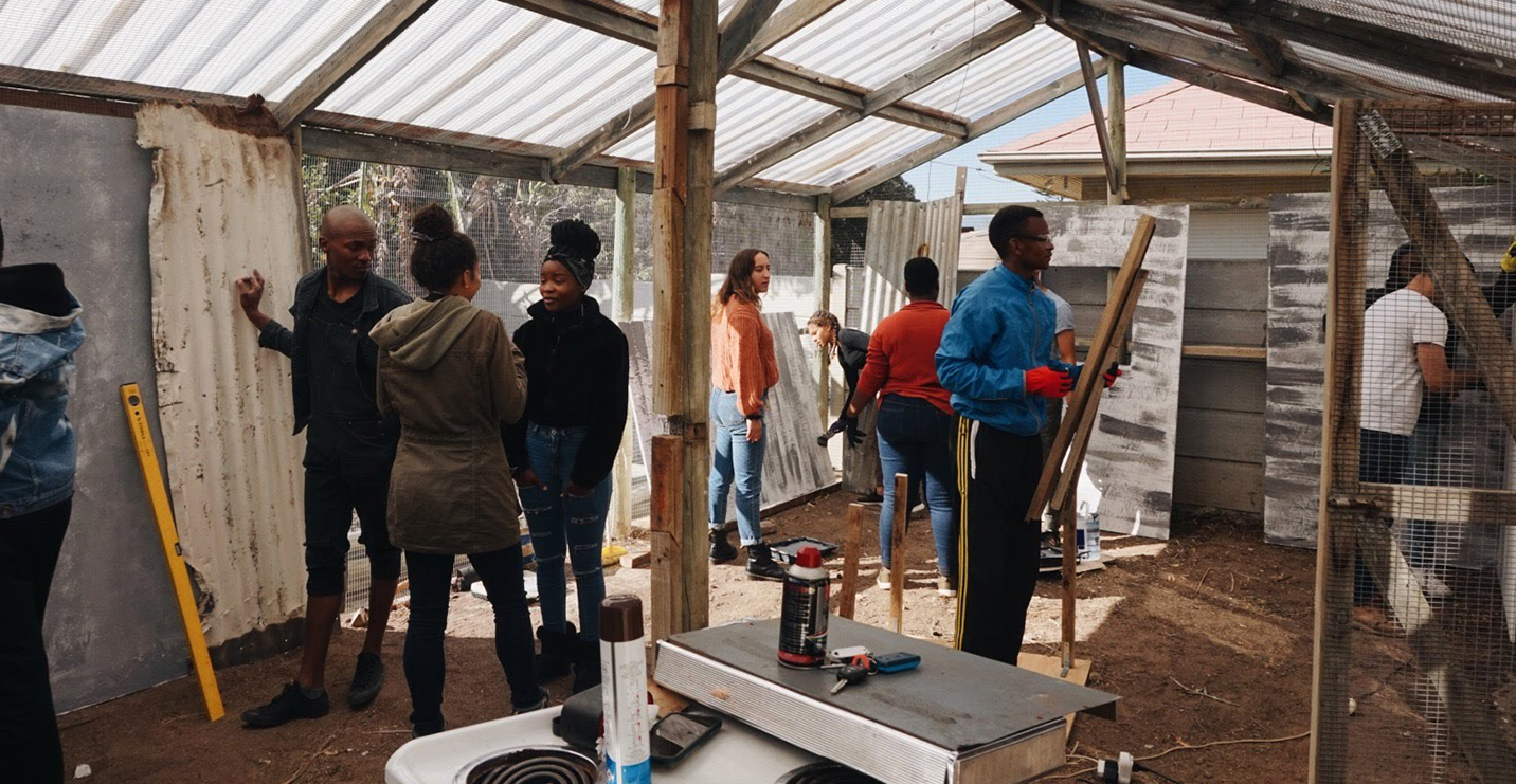 CLA students work on projects in South Africa