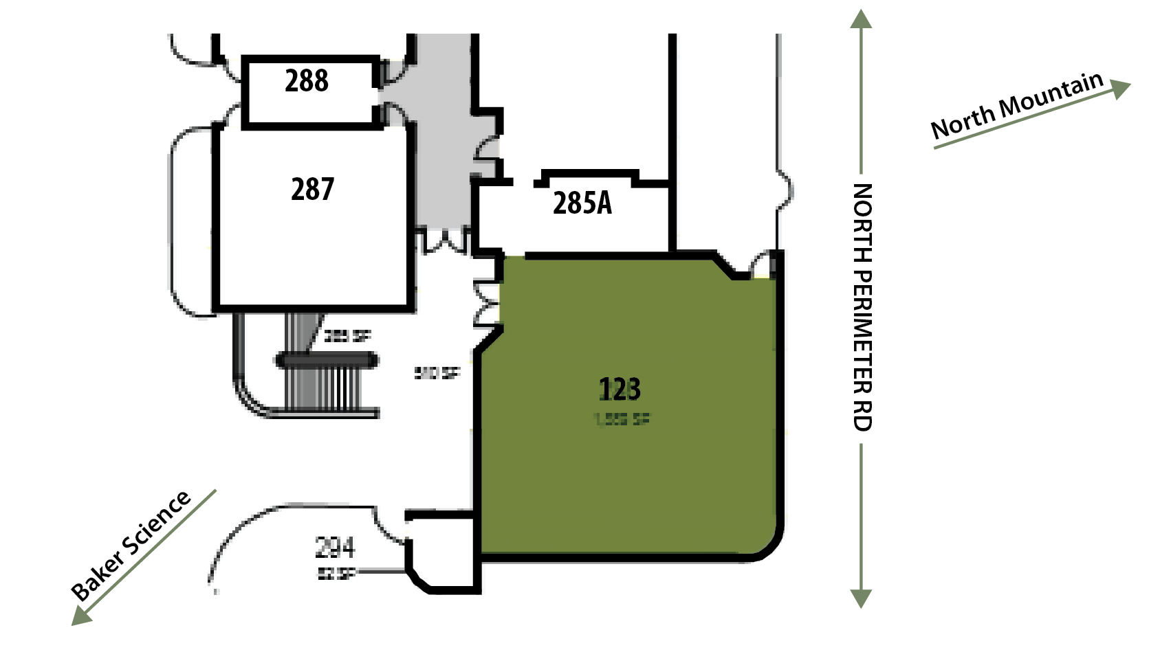 Clyde P. Fisher Floorplan