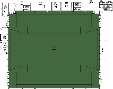 Mott Gym Floorplan