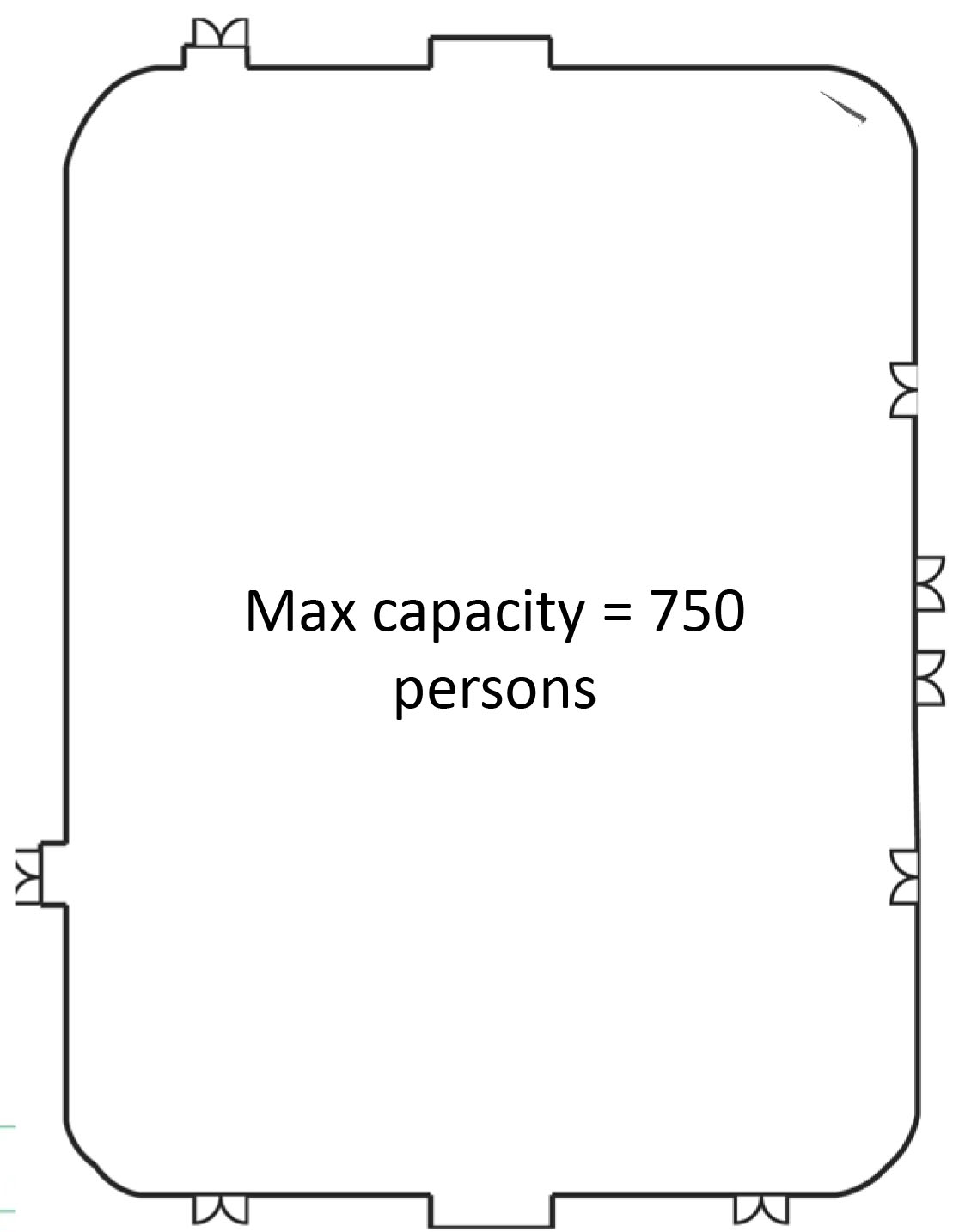Multipurpose Activity Center Floor Plan