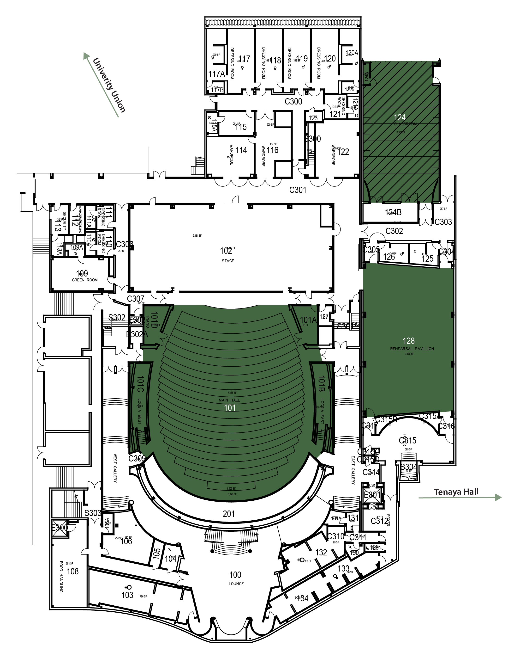 PAC Floorplan