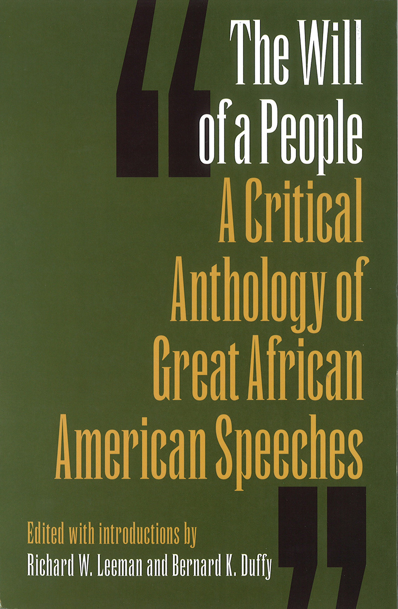 Book Cover for The Will of a People