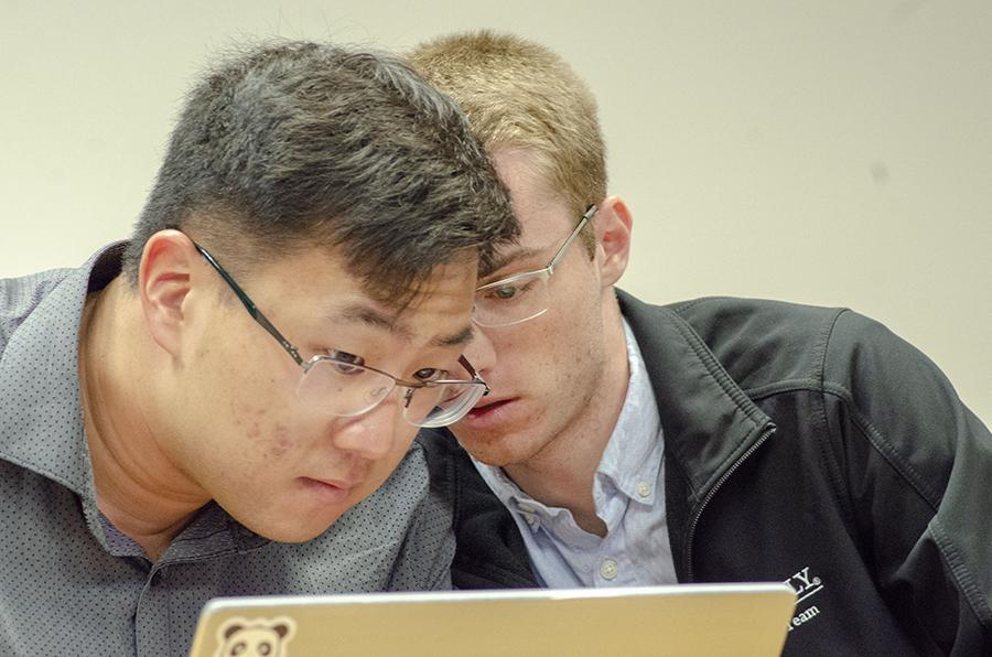 Brandon Chong and Ryan Hund