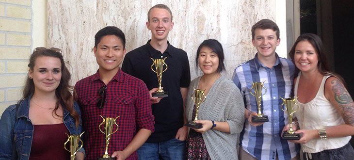 Cal Poly Debate Team 2015-16