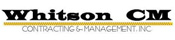 Whitson Contracting & Management Logo