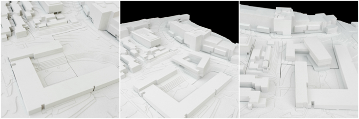 3-D model of buildings