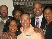 Members of the Black Alumni Chapter