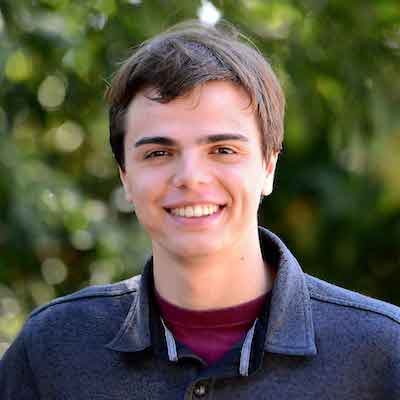 Cal Poly biology junior, David Denisov