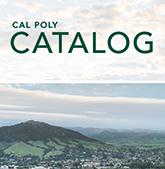 cal poly catalog