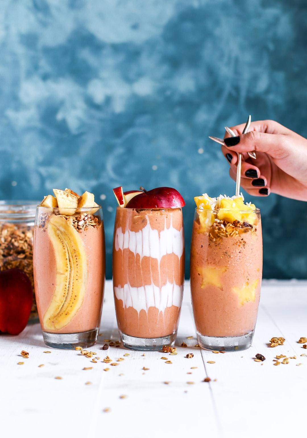 Blended drinks