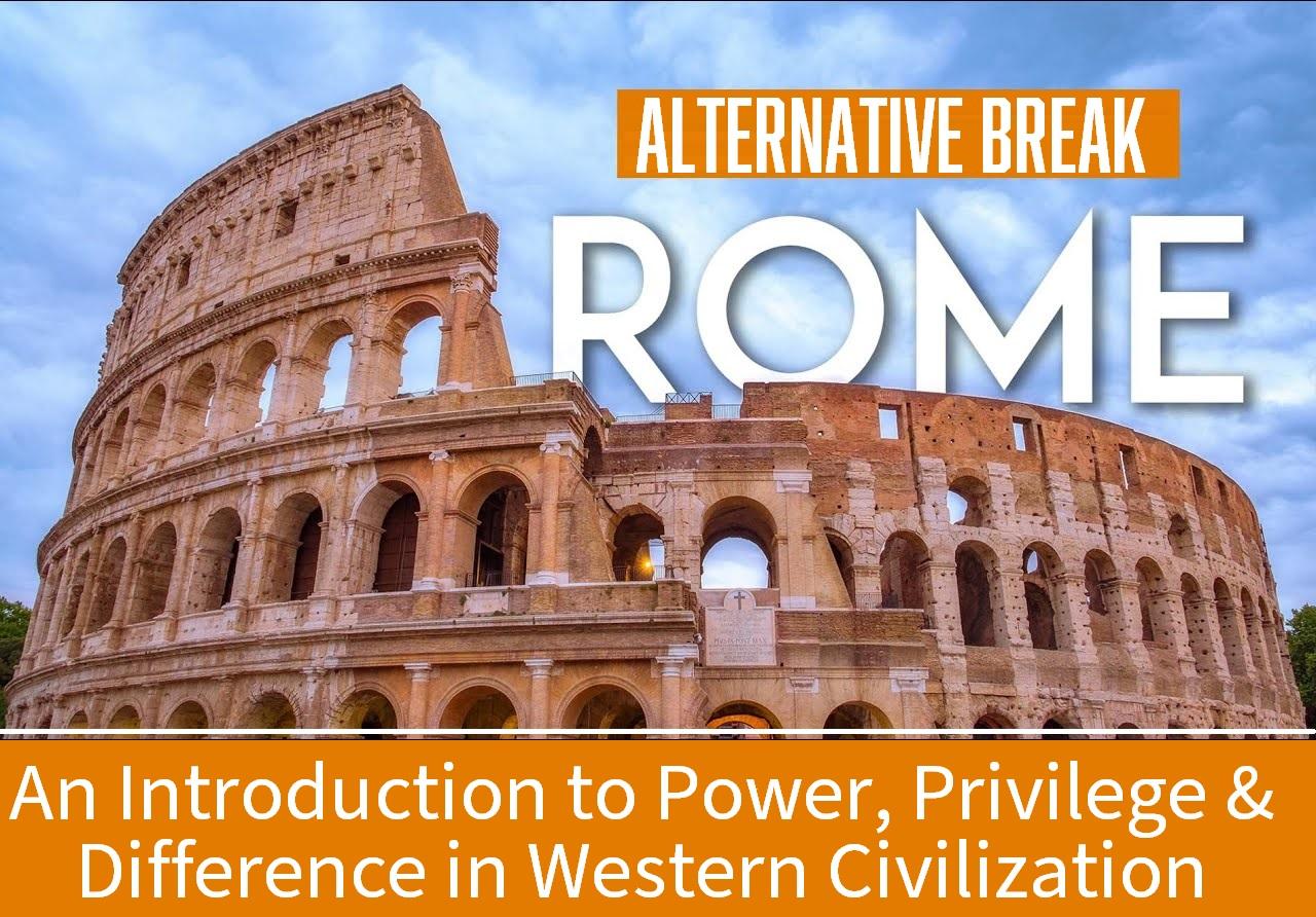 Rome Alternative Break