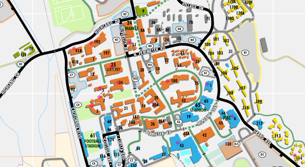 Cal Poly Campus Map