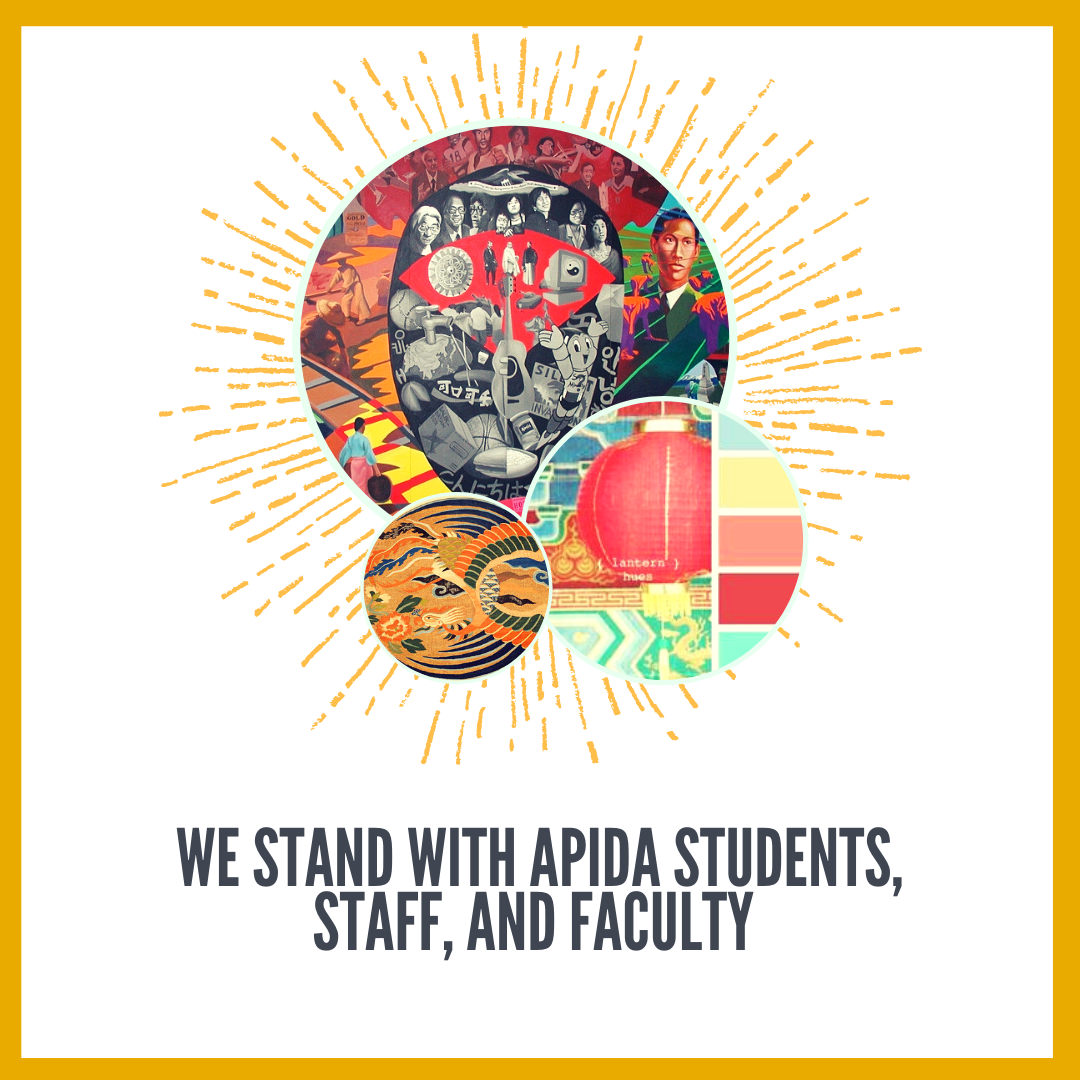 Solidarity with APIDA Students, Faculty, and Staff