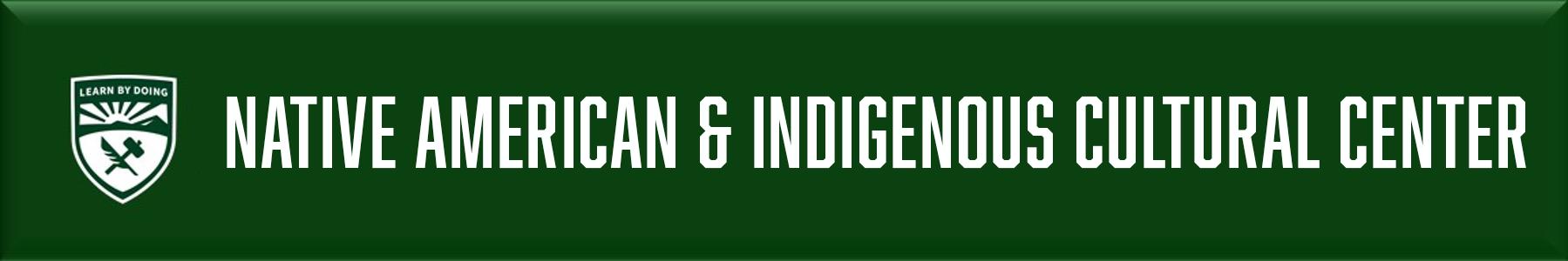 Native American & Indigenous Cultural Center Banner